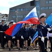 Экипаж парусного учебного судна «Мир» стал победителем международной гонки Liberty Tall Ships Regatta