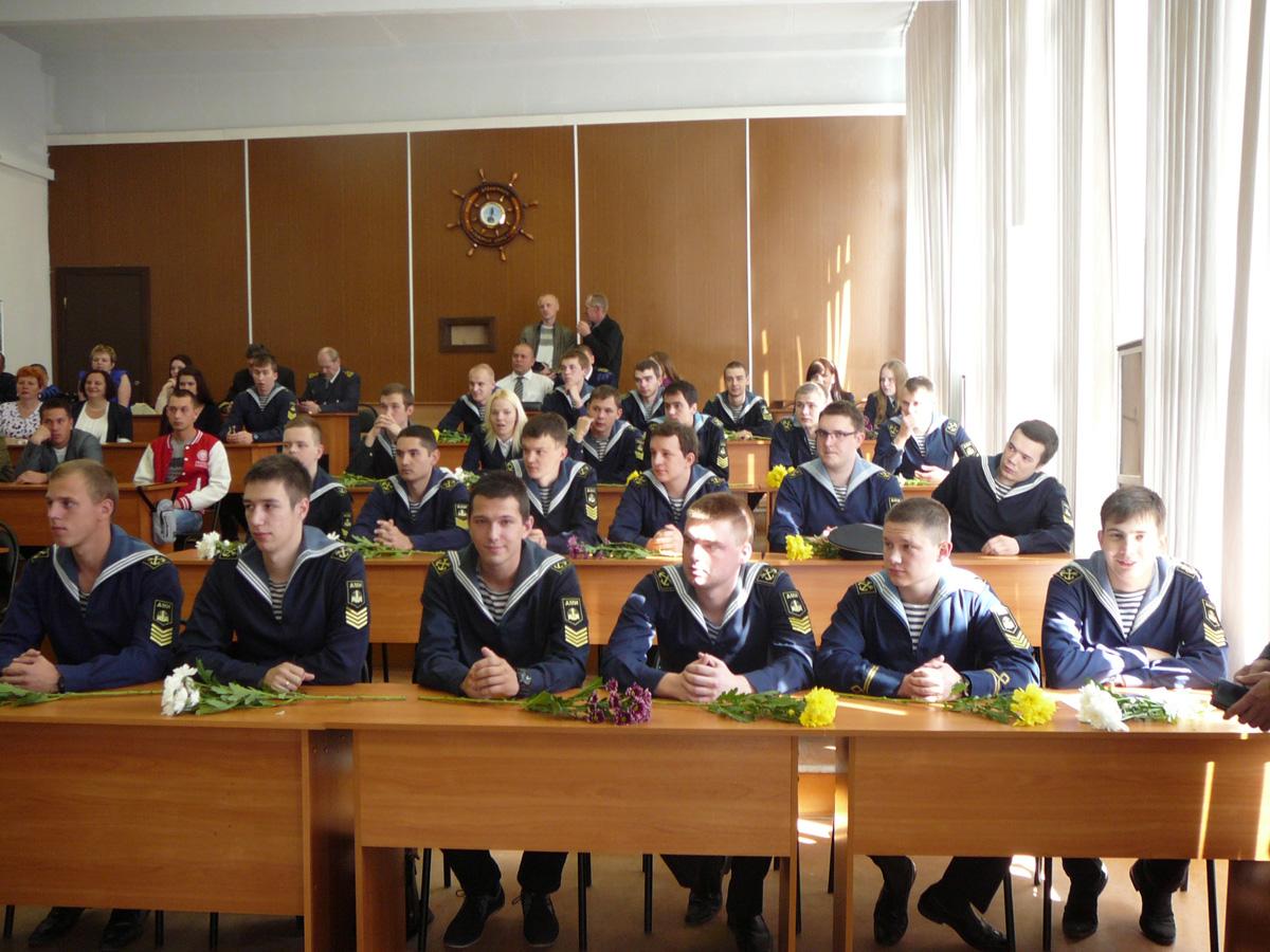 Вручение дипломов выпускникам Арктический морской институт имени  Вручение дипломов выпускникам